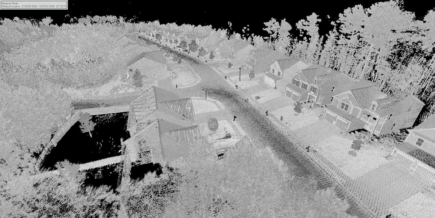 LiDAR Topographic Survey Utilizing Drone Technology